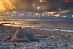zamek piasku Obraz Royalty Free