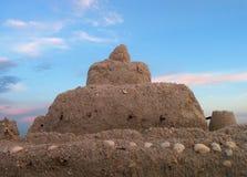 zamek piasku Fotografia Stock