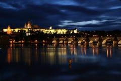 zamek Prague fotografia royalty free