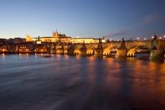 zamek Prague fotografia stock