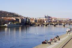 zamek Prague zdjęcia royalty free