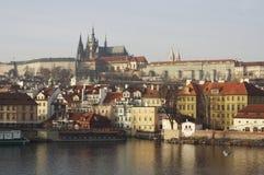 zamek Prague Obraz Stock
