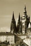 zamek Prague obraz royalty free