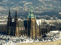 zamek Praha Zdjęcie Royalty Free