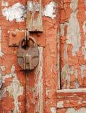 zamek rdzewiejący zdjęcie royalty free