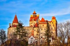 zamek Romania otrąb fotografia stock