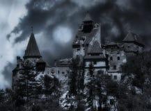 zamek Romania otrąb zdjęcia royalty free