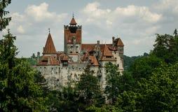 zamek Romania otrąb Tajemniczy dom wampir Dracula obrazy stock
