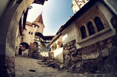 zamek Romania otrąb Obrazy Royalty Free