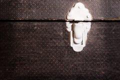zamek stara walizka Obrazy Stock