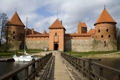 zamek trakai Obrazy Royalty Free