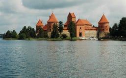 zamek trakai Zdjęcia Stock