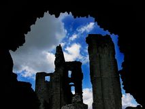 zamek tunelu zdjęcia stock
