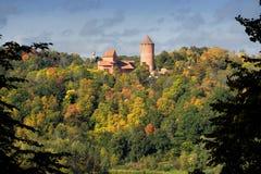 zamek turaida Zdjęcia Stock