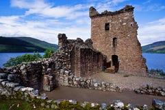zamek urquhart Zdjęcia Royalty Free