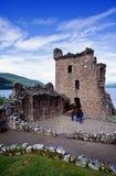 zamek urquhart Zdjęcie Stock