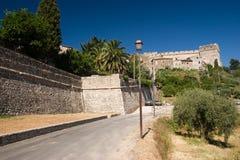 zamek we włoszech zdjęcie royalty free