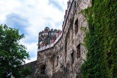 Zamek w Bolkowie Burgberg, 396 metrów nad poziom morza zdjęcie royalty free