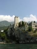 zamek we włoszech Obrazy Royalty Free