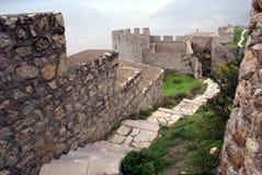 zamek w środku Obraz Royalty Free