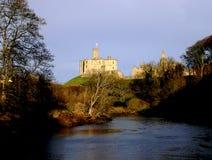 zamek warkworth Zdjęcia Stock