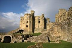 zamek warkworth Obrazy Royalty Free