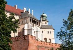 Zamek Wawel castle in Krakow, Poland Royalty Free Stock Image