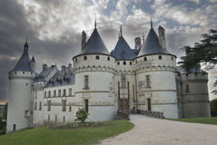 zamek wejścia Zdjęcie Royalty Free