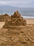zamek z piasku Obrazy Royalty Free