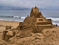 zamek z piasku Obrazy Stock