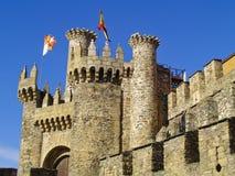 zamek zaczarowany Le N Hiszpanii Obraz Royalty Free