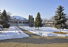 Zamfira monastery garden Royalty Free Stock Photos
