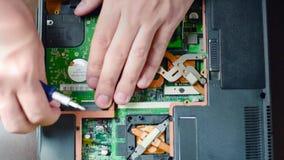 Zamieniać ciężką przejażdżkę w laptopie zbiory