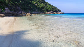 Zamieszkana wyspa Zdjęcia Stock