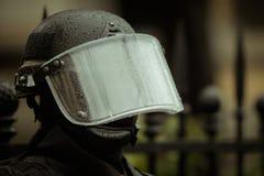 Zamieszki policja Fotografia Stock