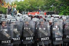 Zamieszki policja Obraz Stock