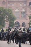 Zamieszki zbliżają G20, Czerwiec 26, 2010 - Toronto, Kanada Fotografia Royalty Free