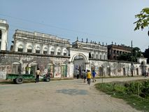 Zamindarbari de Bogra Saturia imagenes de archivo