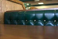 zamknąć restaurację, booth Zdjęcia Royalty Free