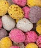zamknięci Easter jajka cukierki zamknięty Zdjęcie Stock
