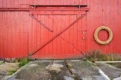 Zamknięta brama Norweska łowi stajnia Obraz Stock