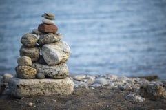zamknięta formacja jak skała w górę zen Obrazy Royalty Free