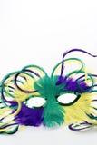 zamknięta gras mardi maska zamknięty Obraz Royalty Free