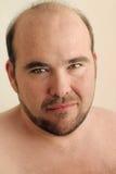 zamkniętego mężczyzna dojrzały up Zdjęcie Royalty Free
