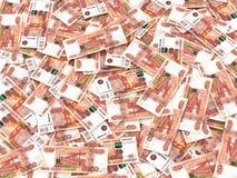 zamkniętego waluty przodu nowy rosjanin w górę widok Obraz Royalty Free