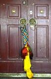 Zamknięty drzwi świątynia fotografia royalty free