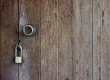 Zamknięty drzwiowy tło Zdjęcie Stock