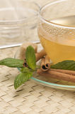 zamknięty filiżanki zamknięta herbata Fotografia Royalty Free