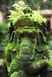 zamknięty ganesha zamknięta statua Zdjęcia Royalty Free