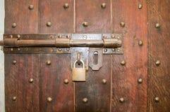 Zamknięty i Pytlowy drzwi obraz royalty free
